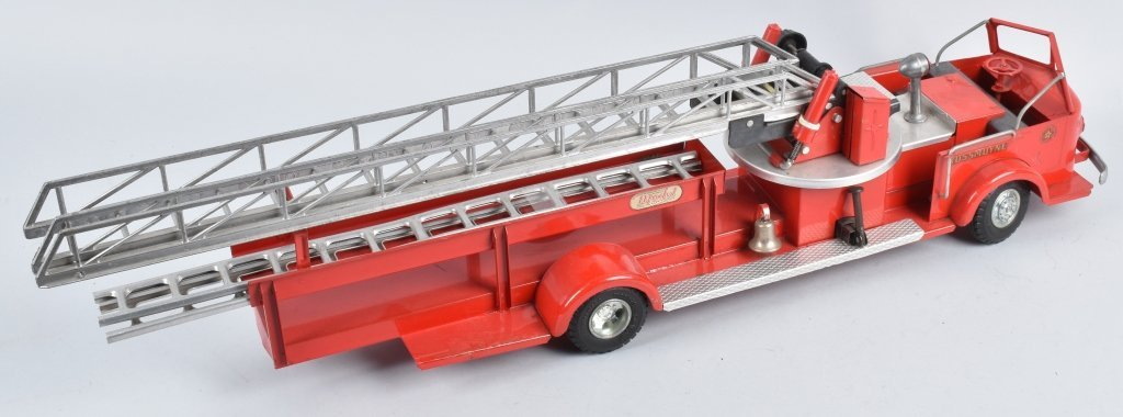 DOEPKE Pressed Steel ROSSMOYNE FIRE TRUCK - 2