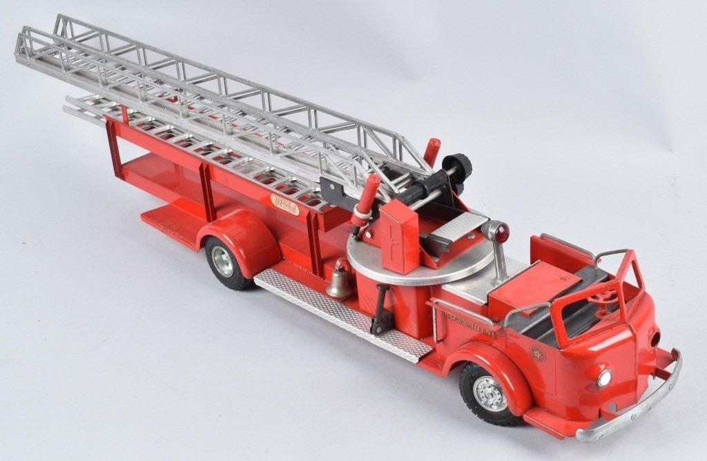 DOEPKE Pressed Steel ROSSMOYNE FIRE TRUCK - 4