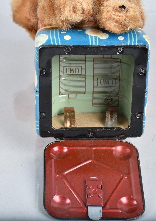 ALPS Battery Op BUBBLE BLOWING MONKEY w/ BOX - 5