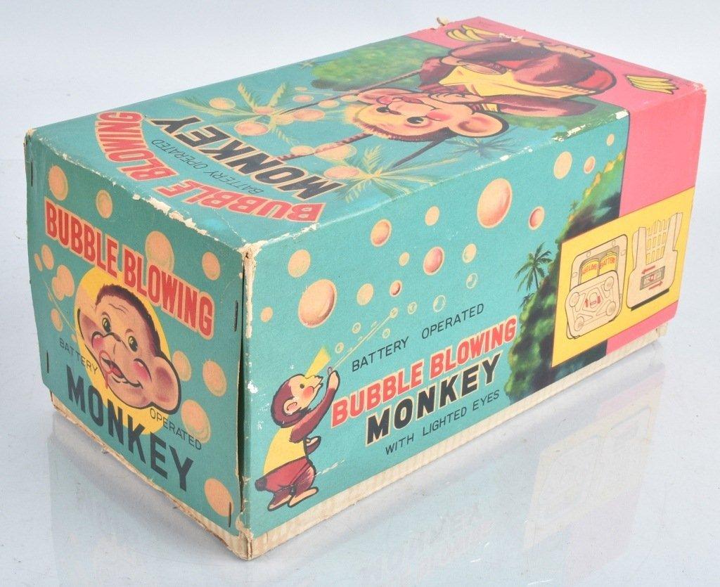 ALPS Battery Op BUBBLE BLOWING MONKEY w/ BOX - 7