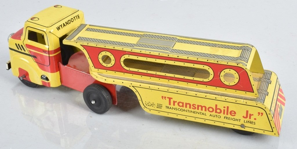 WYANDOTTE Pressed Steel TRANSMOBILE JR TRUCK - 2