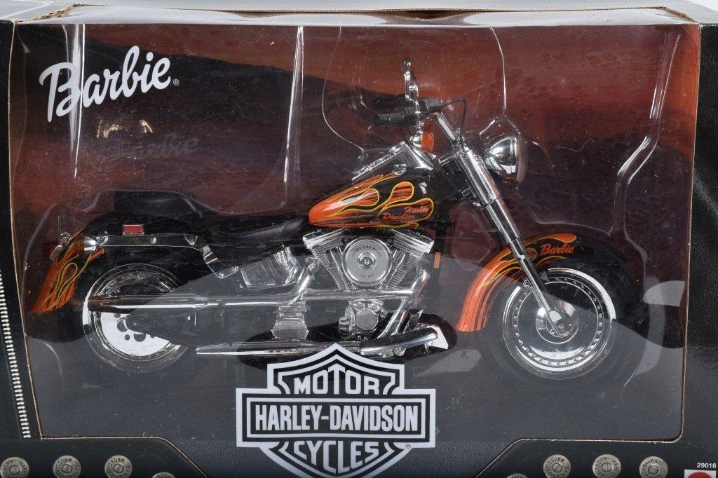 HARLEY DAVIDSON BARBIE MOTORCYCLE, TOY - 2