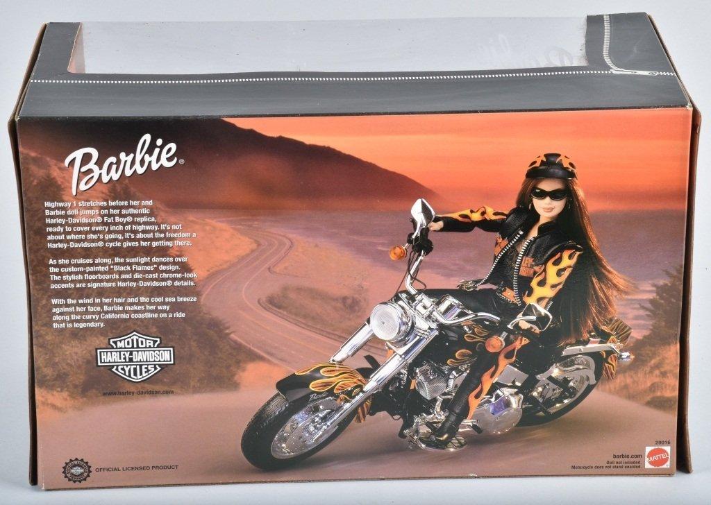 HARLEY DAVIDSON BARBIE MOTORCYCLE, TOY - 3