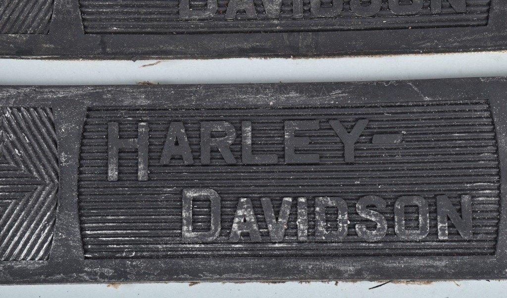 2-HARLEY DAVIDSON 1914-39 NOS FLOOR BOARD MATS - 2