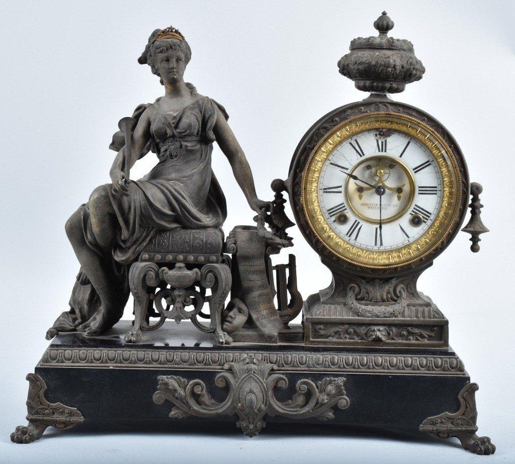 ANSONIA ORNATE MANTEL CLOCK