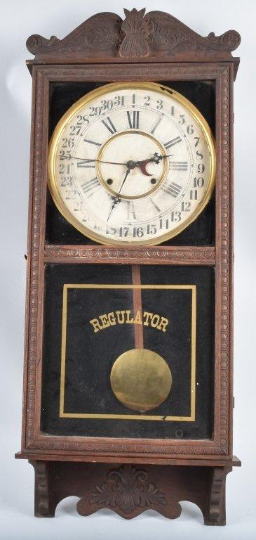 GILBERT OBSERVATORY REGULATOR WALL CLOCK