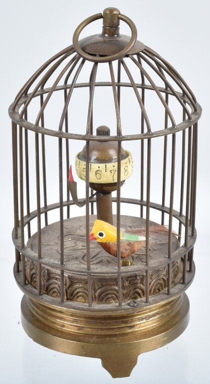 LOT of 3 BIRD CAGES, CLOCKS & MORE - 6