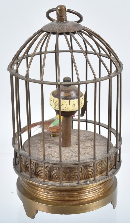 LOT of 3 BIRD CAGES, CLOCKS & MORE - 7