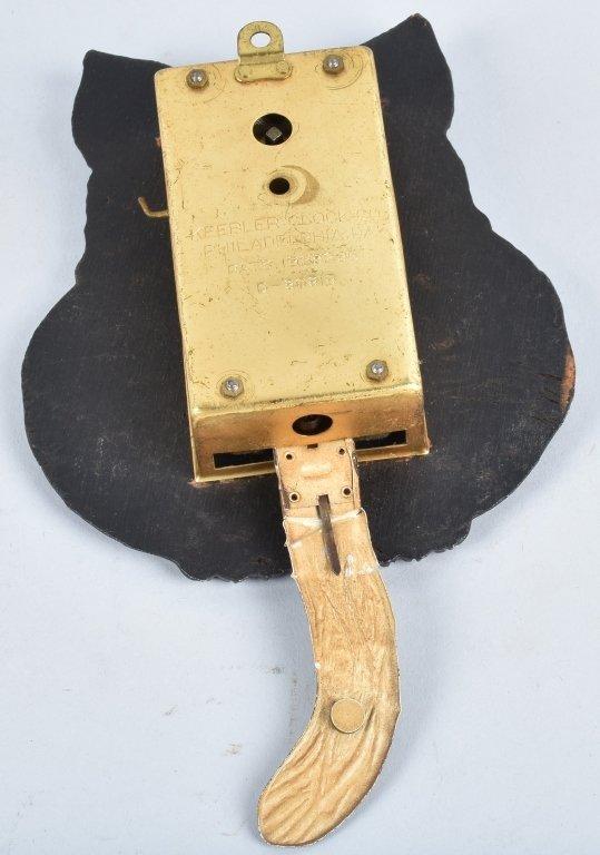 KEEBLER ANIMATED CAT CLOCK, VINTAGE - 3