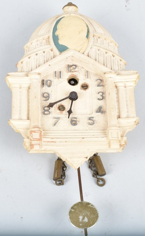 LUX FDR NEW DEAL WHITE HOUSE POLITCAL CLOCK
