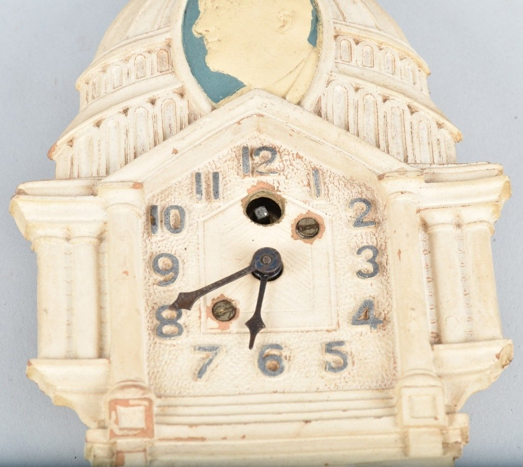LUX FDR NEW DEAL WHITE HOUSE POLITCAL CLOCK - 3