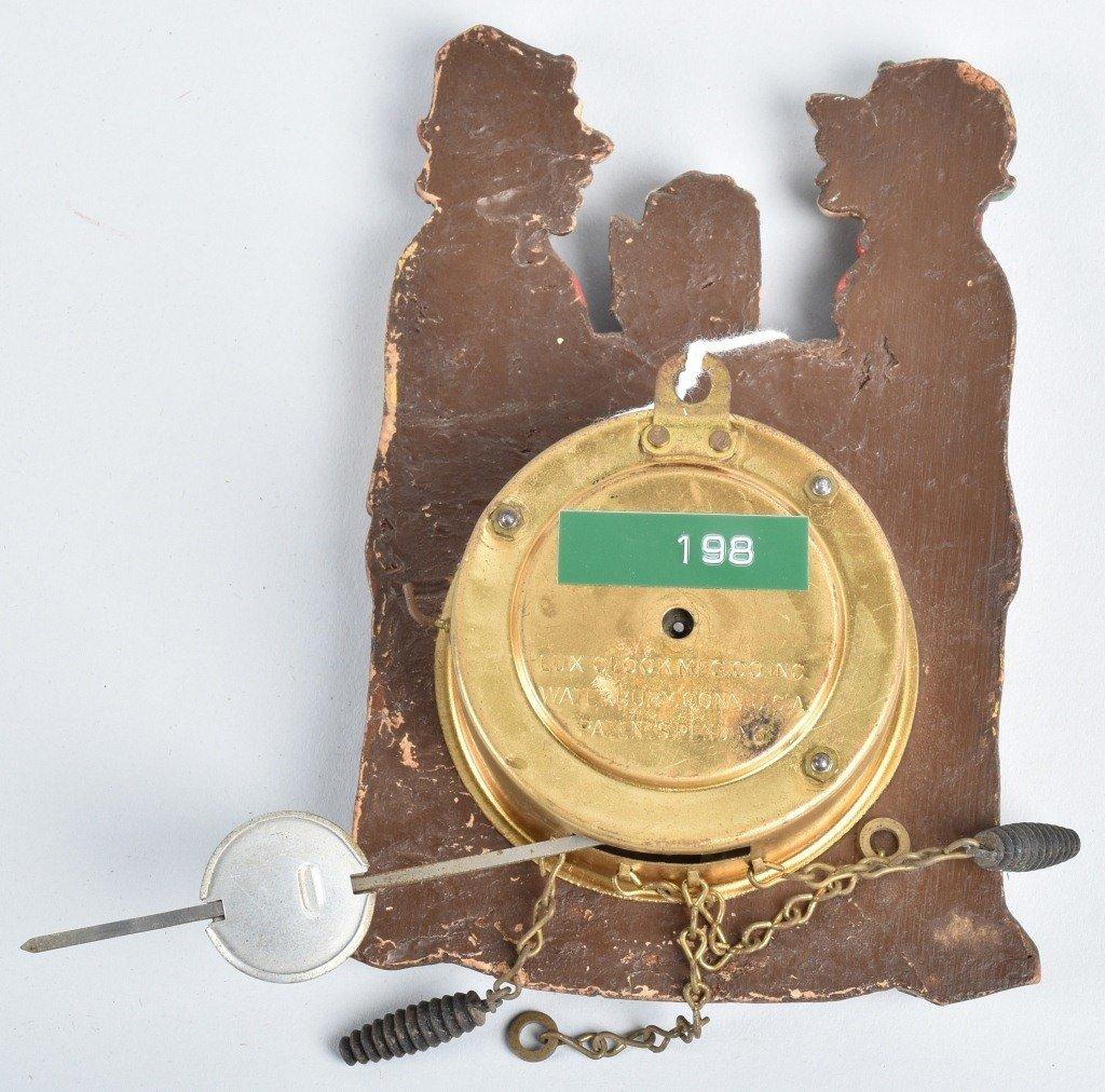 LUX BEER DRINKERS NOVLETY CLOCK - 2