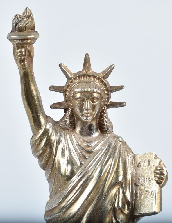 NEW YORK STATUE of LIBERTY CLOCK / MOTION LAMP - 4