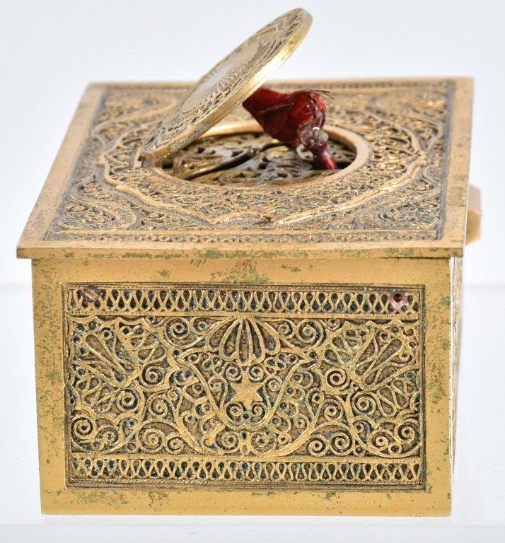 GERMAN WINDUP MUSICAL BIRD BOX - 6