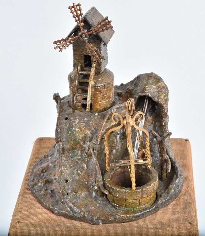 WINDMILL and  WELL MUSIC BOX, VINTAGE - 2