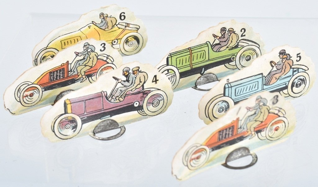 EARLY FAULKNER PIP PIP RACE CAR GAME, - 5