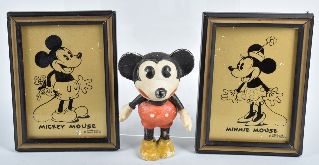 EARLY MICKEY and MINNIE MOUSE LOT