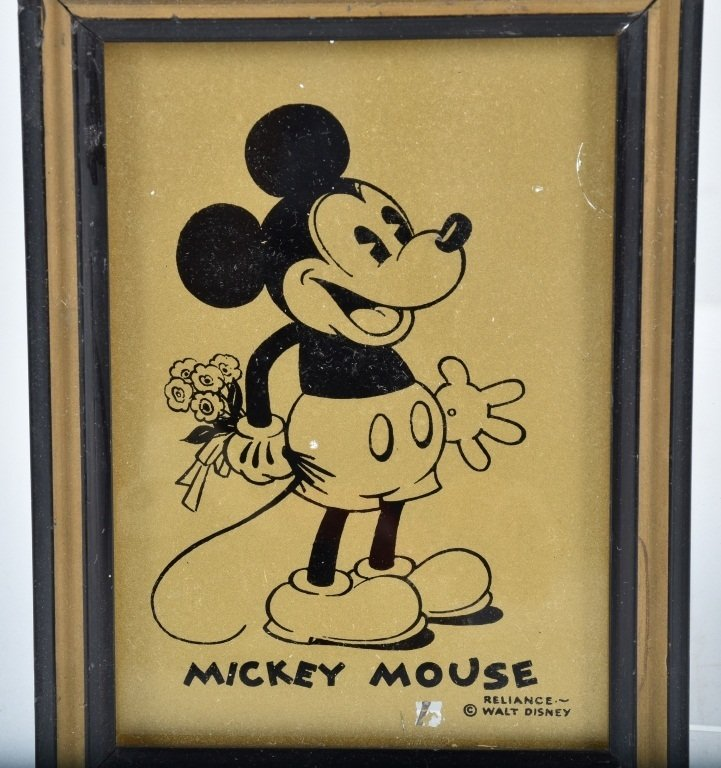EARLY MICKEY and MINNIE MOUSE LOT - 3