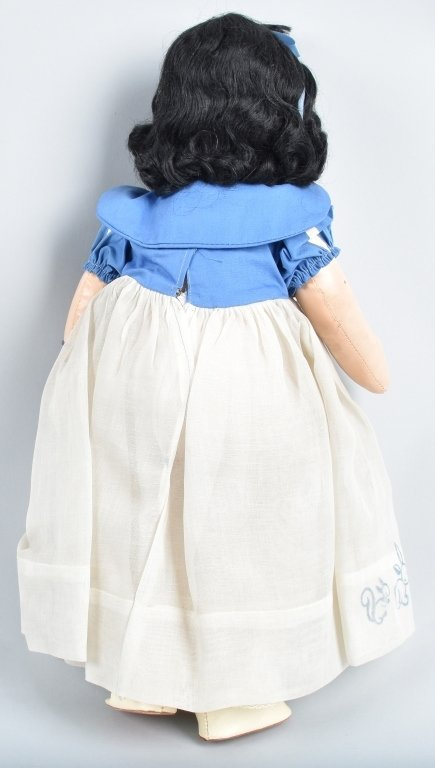 IDEAL 1937 SNOW WHITE DOLL with HANG TAG - 6