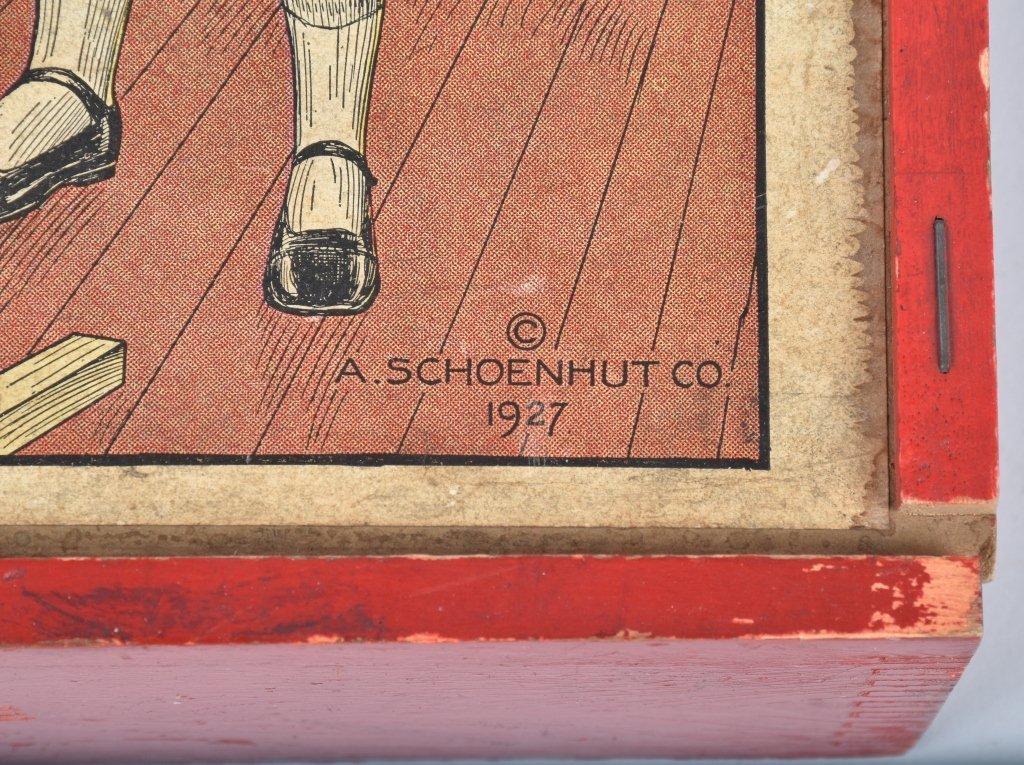 OHIO ART TIN BEACH ITEMS, & SCHOENHUT BLOCK BOX - 3