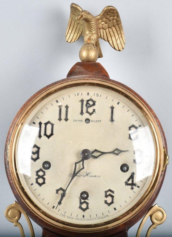 NEW HAVEN BANJO CLOCK, VINTAGE - 2