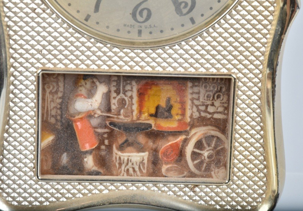 3- ANIMATED ELECTRIC CLOCKS, VINTAGE - 4