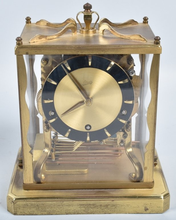 3- GLASS CASE CLOCKS, SCHATZ and MORE - 2