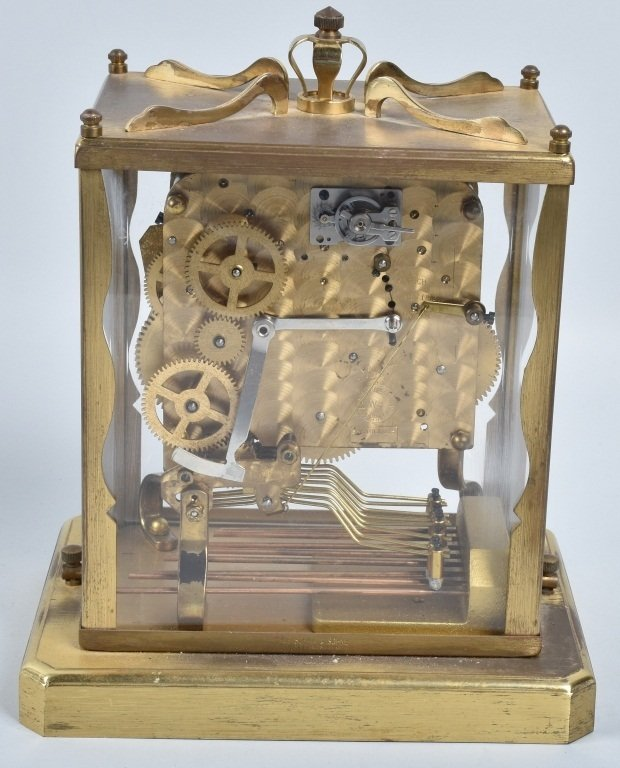 3- GLASS CASE CLOCKS, SCHATZ and MORE - 3