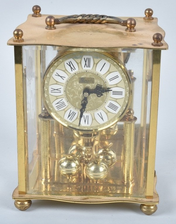 3- GLASS CASE CLOCKS, SCHATZ and MORE - 6