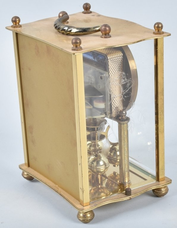 3- GLASS CASE CLOCKS, SCHATZ and MORE - 7