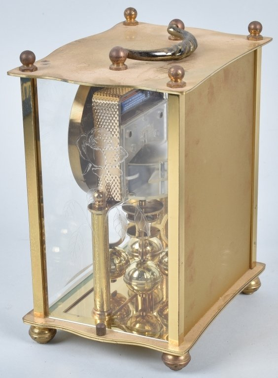 3- GLASS CASE CLOCKS, SCHATZ and MORE - 8