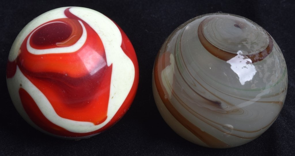 7- GEAR SHIFT KNOBS, GLASS SWIRL and MORE, VINTAGE - 2