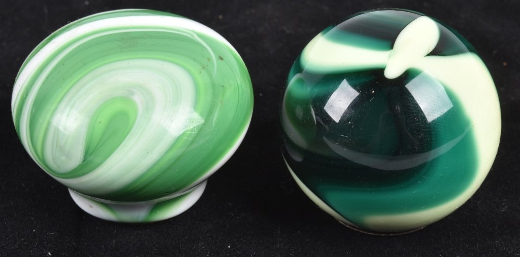 7- GEAR SHIFT KNOBS, GLASS SWIRL and MORE, VINTAGE - 3