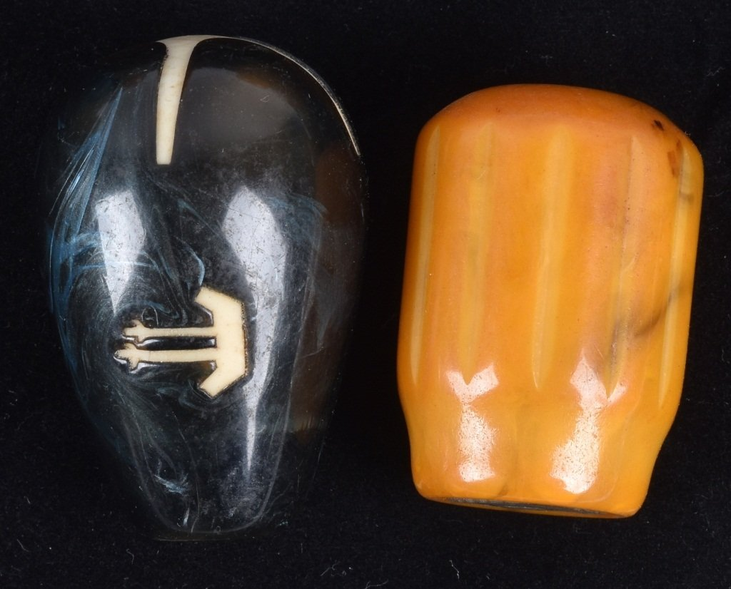 8- GEAR SHIFT KNOBS, BAKELITE and MORE, VINTAGE - 6
