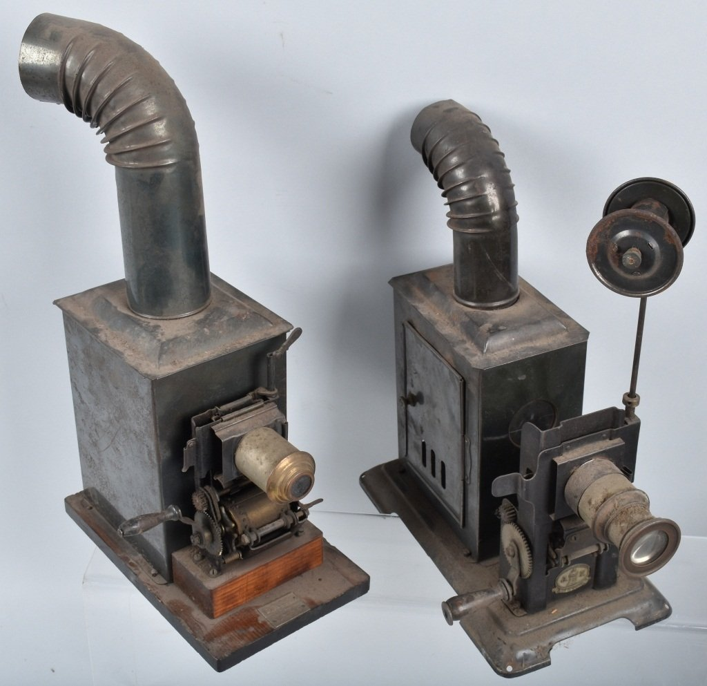 LOT of EARLY GERMAN TIN PROJECTORS and MORE - 2