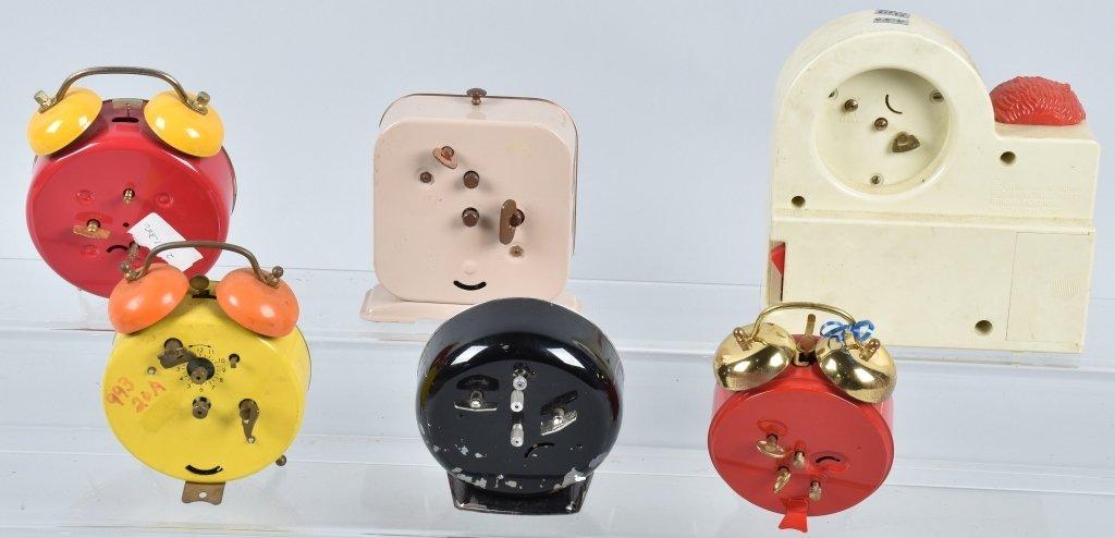 6-CHARACTER ALARM CLOCKS - 6