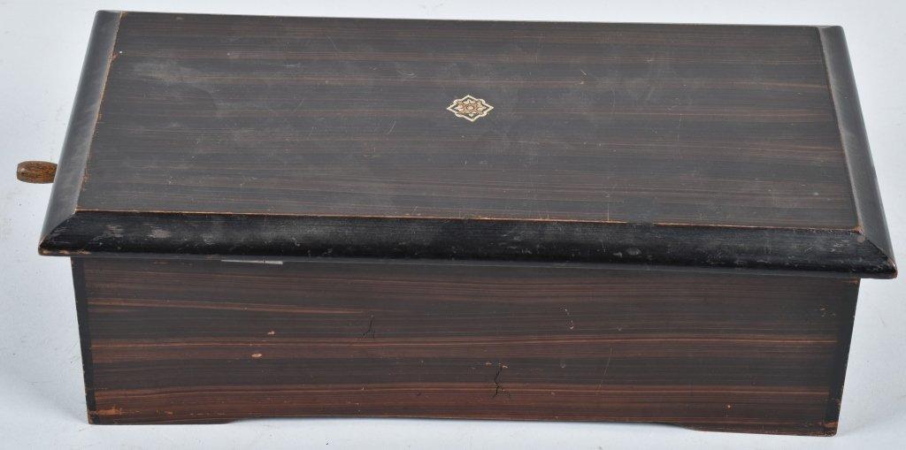 PAT 1888, SWISS CYLINDER MUSIC BOX - 6