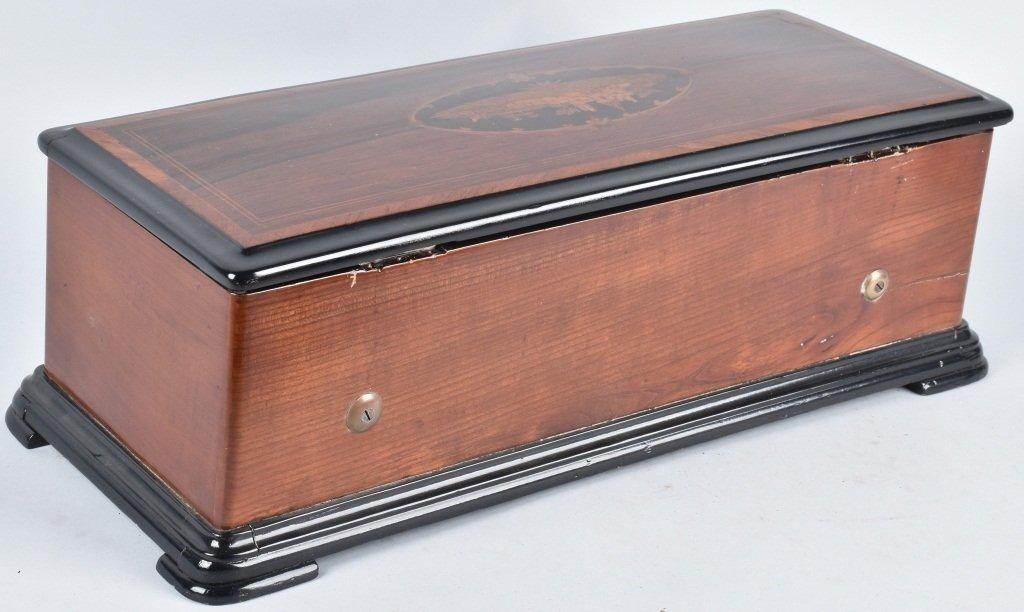 ANTIQUE SWISS MUSIC BOX - 7