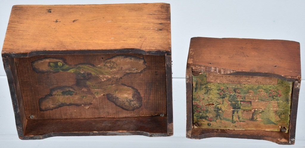 2-VICTORIAN CHILDS MUSIC BOXES - 5