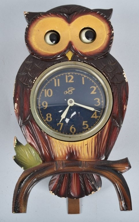 3-ANIMATED CLOCKS, OWLS and MORE - 3