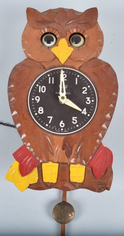 3-ANIMATED CLOCKS, OWLS and MORE - 4