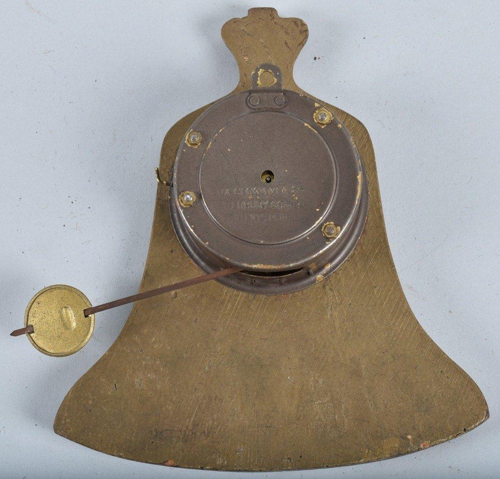 LUX NOVELTY LIBERTY BELL CLOCK - 2