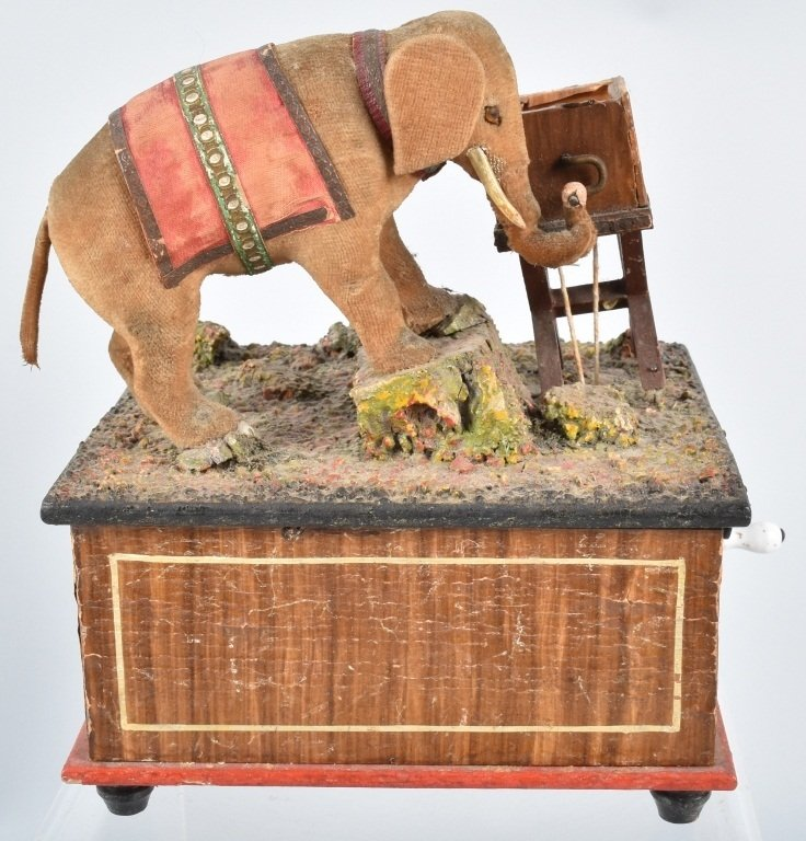 ELEPHANT AUTOMATON MUSIC BOX