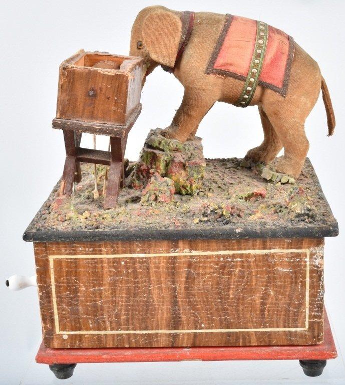 ELEPHANT AUTOMATON MUSIC BOX - 3
