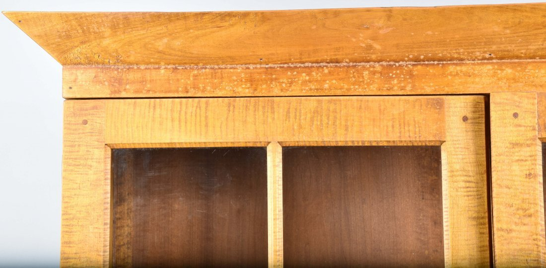 TIGER MAPLE CUPBOARD and MATCHING TABLE - 2