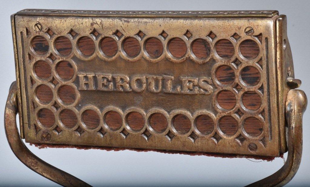 ANTIQUE BERINGHAUS HERCULES BARBER CHAIR - 7