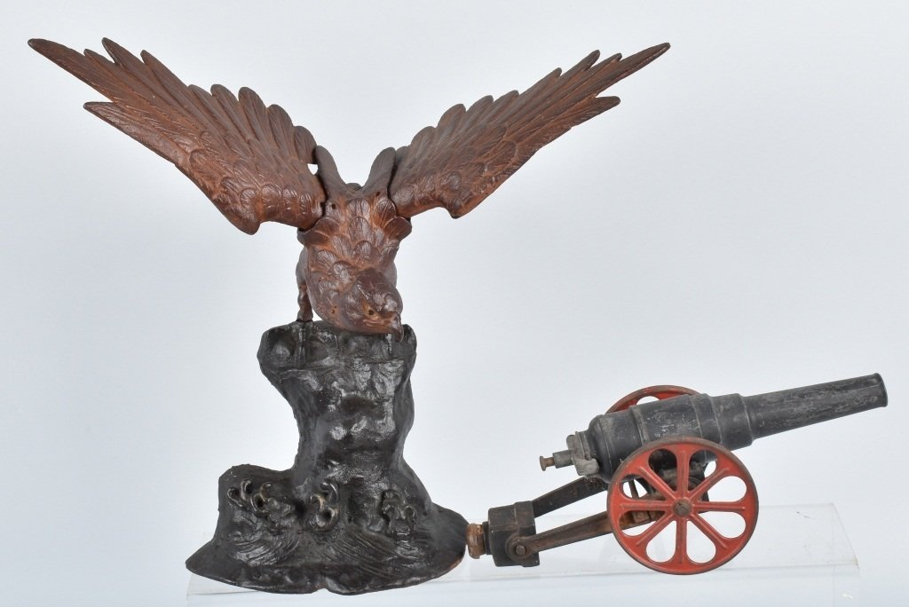 CAST IRON EAGLE and BIG BANG CANNON