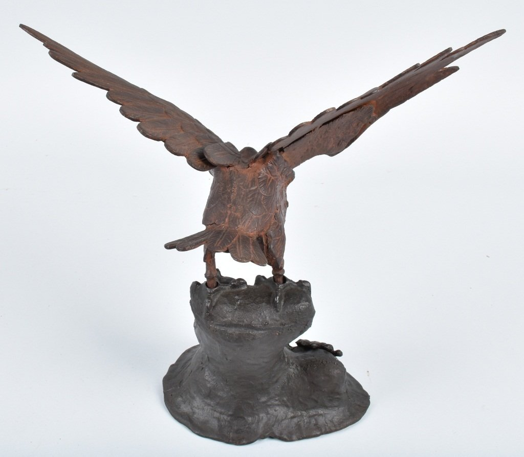 CAST IRON EAGLE and BIG BANG CANNON - 3