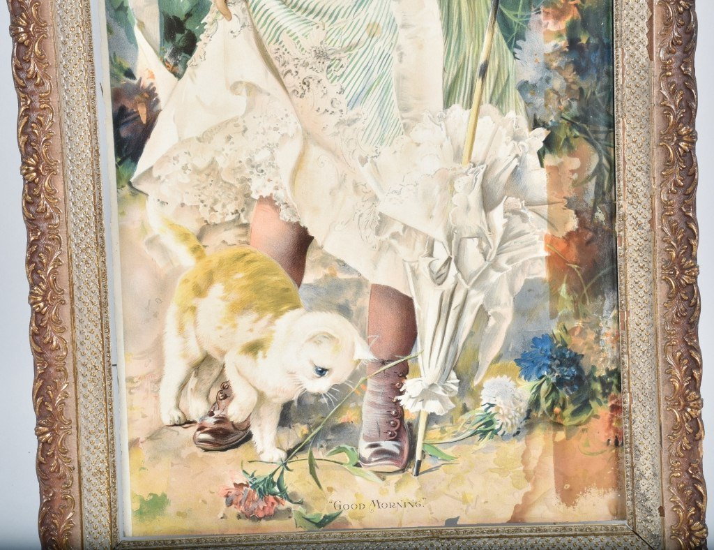 1890s ADVERTISING POSTER w/ CHILD - 3