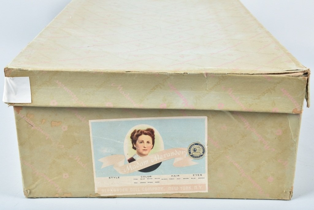 MADAME ALEXANDER SNOW WHITE DOLL, BOXED, VINTAGE - 4